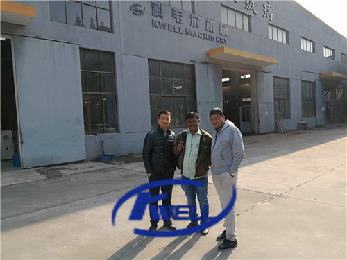 Machine testing inspection for PVC steel wire reinforced hose tube production extrusion line machine