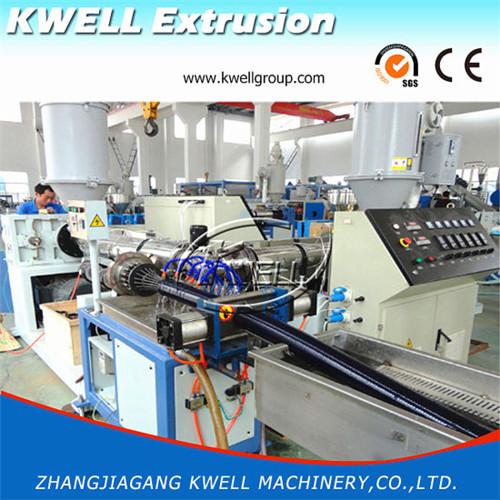 Single cavity Output PVC Spiral Helix Suction Hose extrusion Machine
