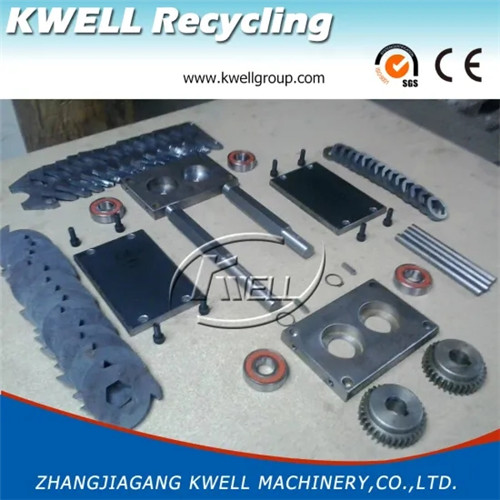 Spare parts for China Kwell Group mini shredder machine