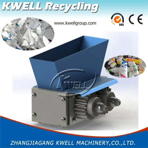 Small mini shredder machine for shampoo milk beverage water bottle basket barrel tank drum book document China Kwell Group