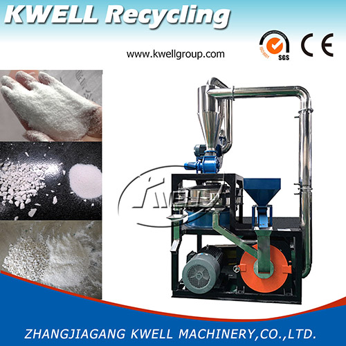 CE European standard Plastic pulverizer grinder mill Kwell Group