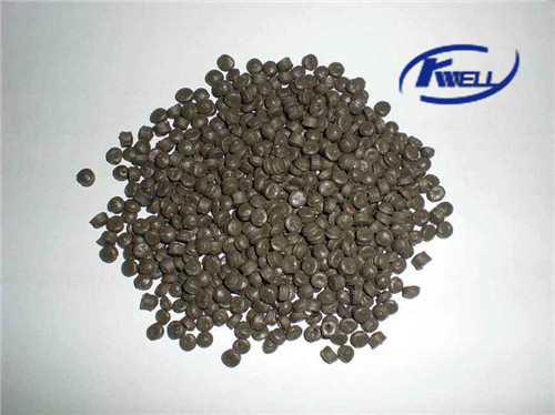 Wood plastic mixture recycling extruder pellet granule machine Kwell China