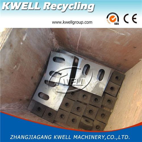 Spare parts knives blade for single shaft shredder and crusher granulator Kwell