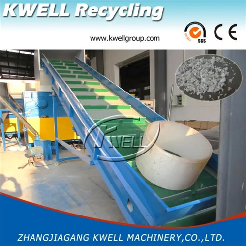 Two in one shredder and crusher machine Kwell