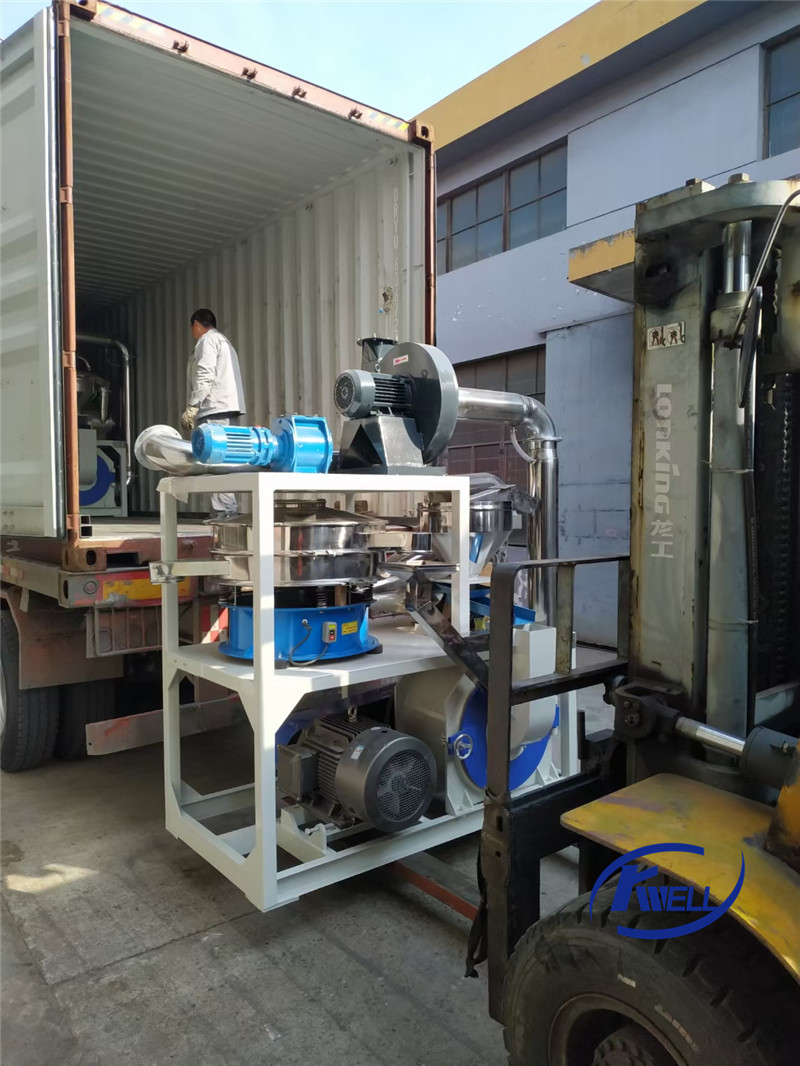 Shipping news-SMF500 PVC pulverizer to Ukraine