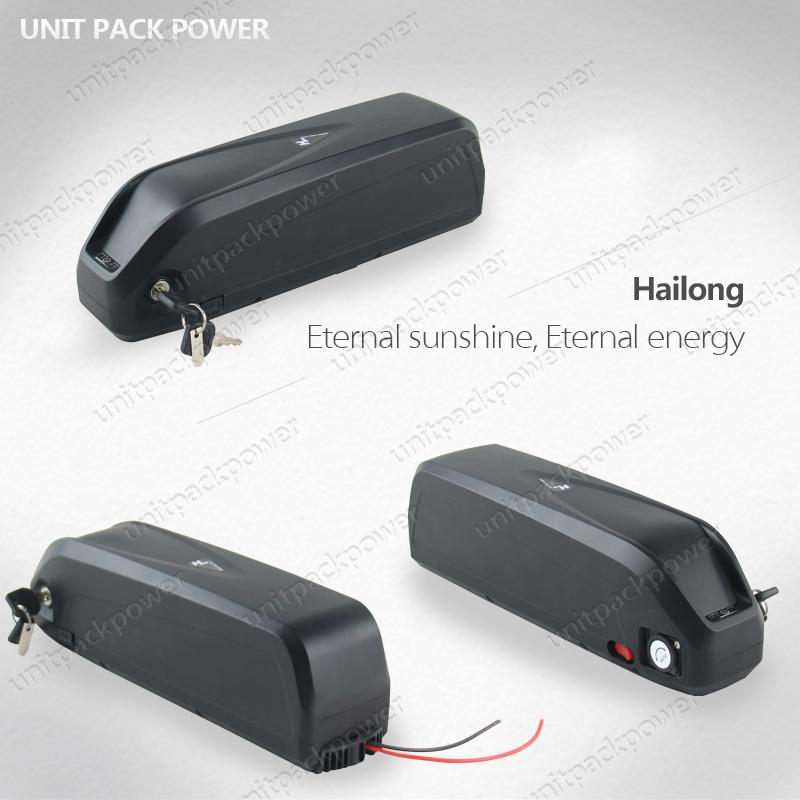 Unit Pack Power Hailoong Lithium Battery 52V