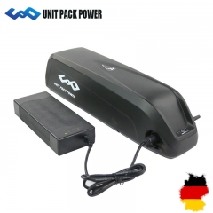 Ship From Germany 48V 10.4Ah eBike Battery Hailong AKKU LG/Samsung 2600mah Cells 13S li-ion battery for 48V 750W Bafang BBS02 eBike Motor No Tax