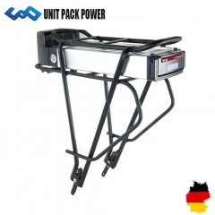 Ship From Germany 36V 10Ah Battery with Rear Rack Li-ion Ebike Battery for 36V 350W 500W Bafang E-Bike Kit