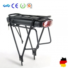 Ship From Germany 36V 14.5Ah Battery with Rear Rack Li-ion Ebike Battery  Samsung Cells for 36V 350W 500W Bafang E-Bike Kit
