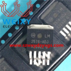 LM2576-ADJ  Commonly used vulnerable power chip for automotive dashboard