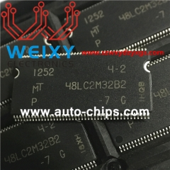 MT48LC2M32B2P-7G commonly used vulnerable chip for automotive radio