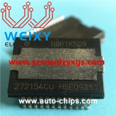 272154CU commonly used vulnerable chip for automotive radio