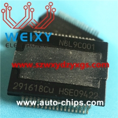 291618CU commonly used vulnerable chip for automotive radio