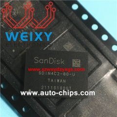 SDIN4C2-8G-U commonly used vulnerable chip for automotive radio