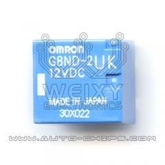 G8ND-2UK 12VDC Commonly used vulnerable hand break relay for BMW EMF