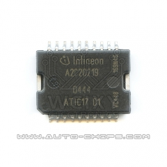 A2C20219 ATIC17 D1  commonly used power driver chip for SIEMENS ECU