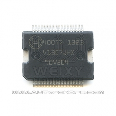 40077  commonly used vulnerable power driver chip for Bosch  high pressure common rail ECU