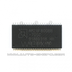 AM29F800BB-70SC flash chip use for automotives ECU