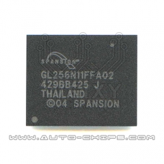 GL256N11FFA02 chip use for Automotives stereo & amplifier accessories