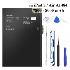 Nohon Battery For iPad 5 Air Battery 7800-8000mAh A1484 A1474 A1475 Bateria 0 Cycly + Tools For Apple iPad5 iPad Air 5 Batteries