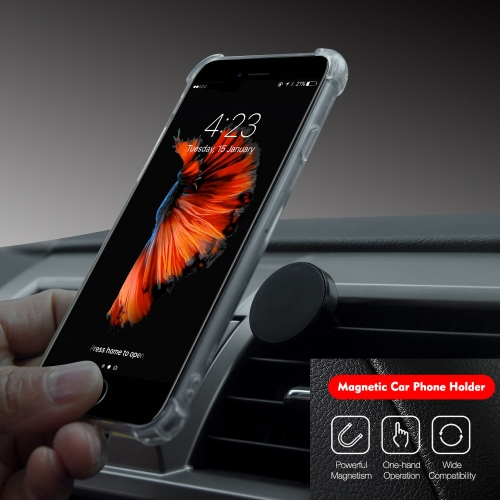 Hot Sale Custom Logo Magnetic Car Phone Holder Mini Air Vent Mount for All Mobile Phone holder