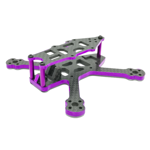 SPCMAKER 95X 95mm 3K Full Carbon Fiber Frame Kit