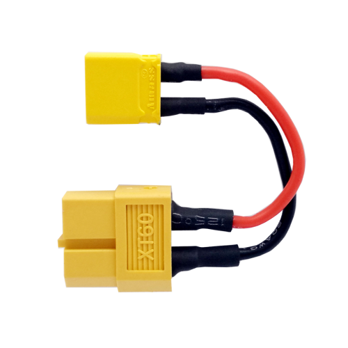 SPCMAKER XT60 female plug to XT30 male plug connector