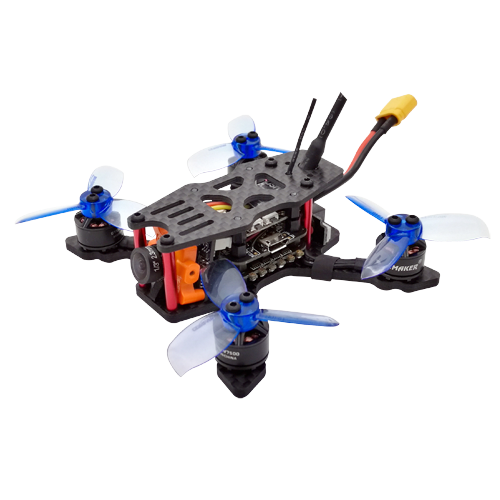 SPCMAKER  90NG 90MM  FPV Racing Drone BNF Version RunCam Micro Swift 2 Camera Omnibus F4 flight controller 20A Mini 4 in 1 BLheli_s ESC (2-4S LiPo)