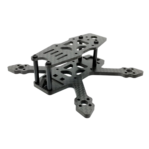 SPCMAKER 90NG 90mm 3K Full Carbon Fiber Frame Kit