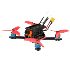 SPCMAKER  110VT 110MM FPV Racing Drone BNF Version RunCam Micro Swift 2 Camera Omnibus F4 flight controller 20A Mini 4 in 1 BLheli_s ESC (2-4S LiPo)