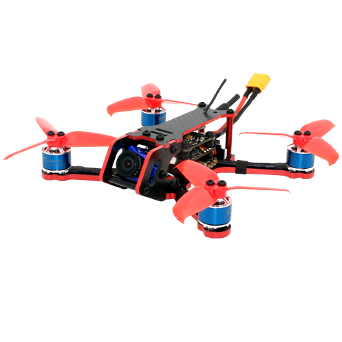 SPCMAKER C120 120MM FPV Racing Drone PNP Version Foxeer predator micro V2 Camera Omnibus F4 flight controller 20A Mini 4 in 1 BLheli_s ESC (2-4S LiPo)