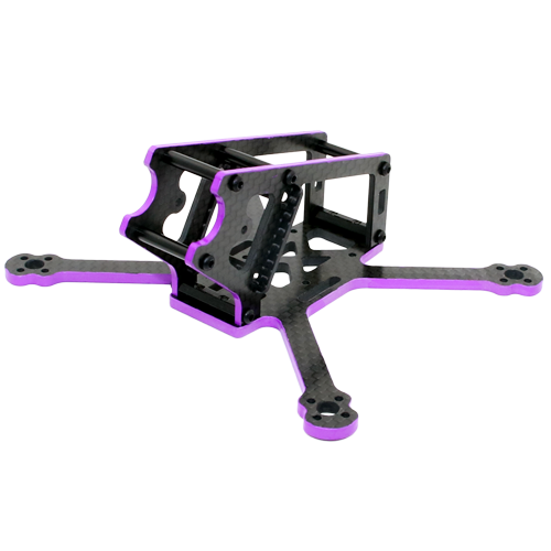 SPCMAKER S125 125mm 3K Full Carbon Fiber Frame Kit