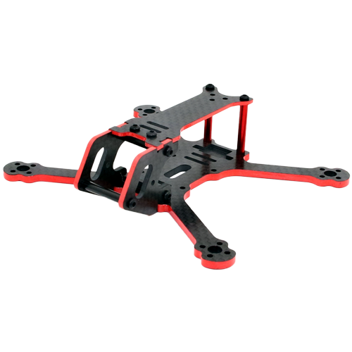 SPCMAKER C120 120mm 3K Full Carbon Fiber Frame Kit