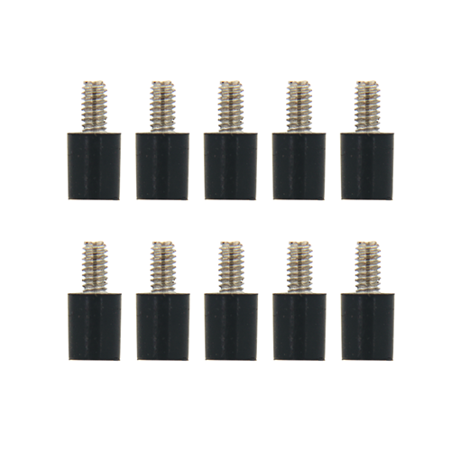 10PCS M2*5+4  Flight Controller Anti-Vibration Fixed Screws for RC Drone FPV Racing