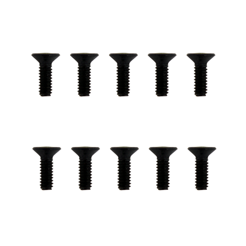 10pcs M2*5 Frame fixing screw Flat head screw RC Drone FPV Racing