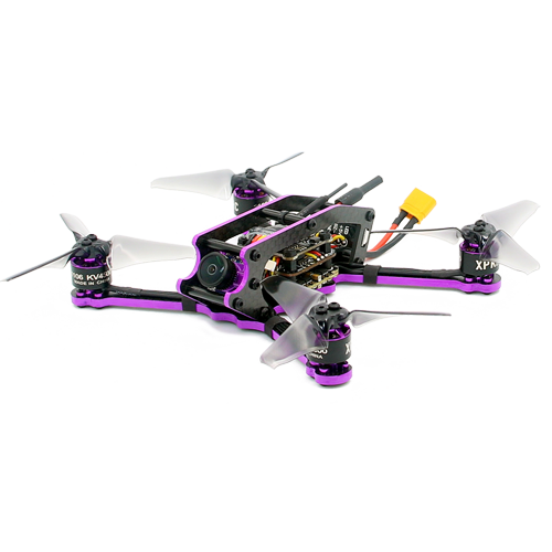 XPKRC X3 Brushless FPV Racing Drone PNP Version Omnibus F4 flight controller 20A Mini 4 in 1 BLheli_s ESC (2-4S LiPo)