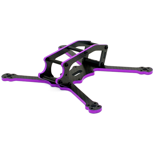 XPKRC X3 135mm 3K Full Carbon Fiber Frame kit