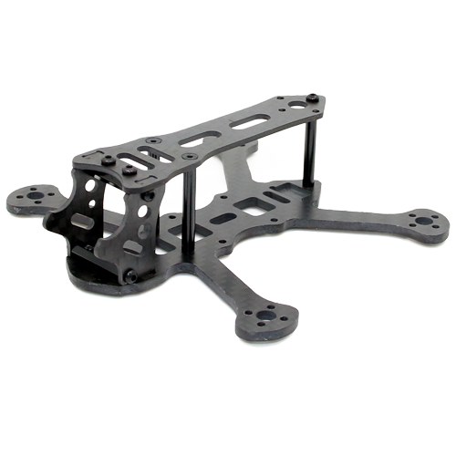 SPCMAKER K25 110mm 3K Full Carbon Fiber Frame Kit