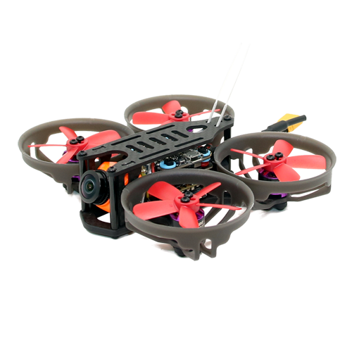 SPCMAKER K19 90MM Brushless FPV Racing Drone PNP BNF Version Omnibus F4 flight controller 20A Mini 4 in 1 BLheli_s ESC (2-4S LiPo) RunCam Split Mini 2