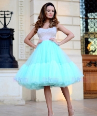 Short Tulle Tutu Skirt Bridal Skirt