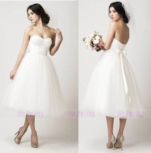 Ivory Short Tulle Bridal Skirt