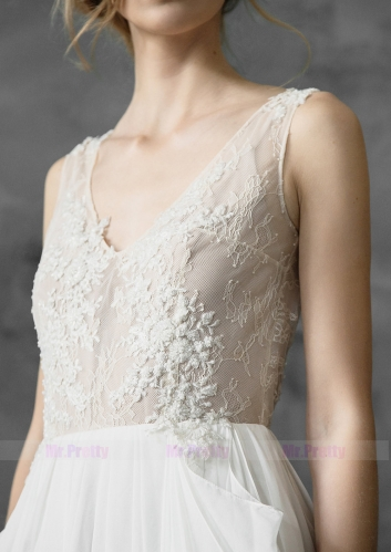 Ivory Lace Tulle Bridal Dress