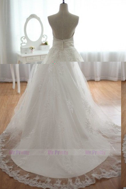 Ivory Lace Tulle Bridal Wedding Skirt Party Skirt