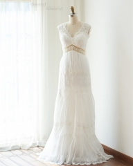 Ivory Lace Wedding Gown Bridal Gown