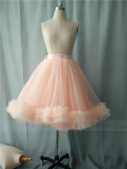 Light Peach Blush Tutu Skirt Party Skirt Short Skirt