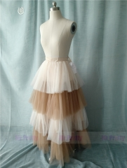 Champagne Pink Tutu Skirt Party Skirt Short Skirt