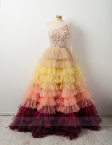 Multi Color Full Length Tutu Skirt Party Skirt