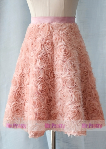 Rosetta Tulle Short  Skirt Party Bridesmaid Skirts