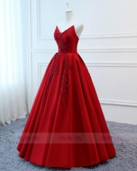 Red Prom Dress Evening Party Dresses Mother Dress