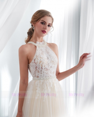 Champagne Prom Dress Evening Party Dresses